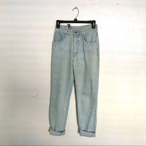 Light wash vintage jeans